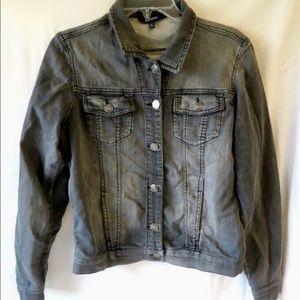 David Men's Buffalo Bitton Black/Gray Jacket Small